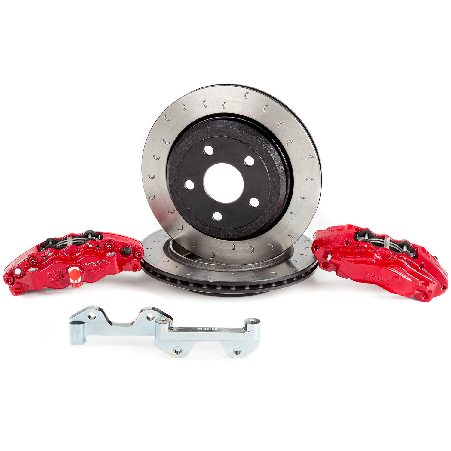 Alcon Jeep JK Dana 44 Rear Brake Kit