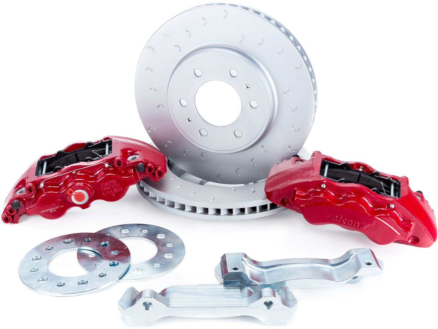 Alcon Ford Raptor Front Brake Kit