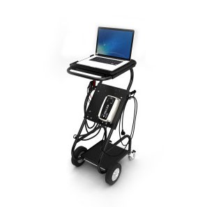 Side View w/ Computer Attached, CTEK - Trolley Pro, Part Number: 56-604
