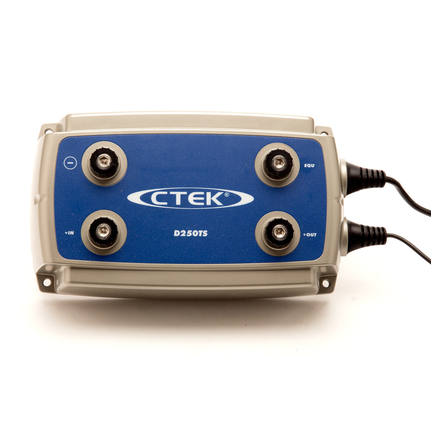 Front View, CTEK - D250TS Dual Battery Charger, 24V- 10a, Part Number: 56-740