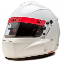 Roux R-1 Fiberglass Base Model Glossy White Helmet