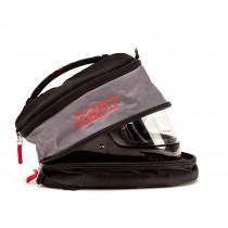 Side Open View, Roux - Hans Helmet Bag, Part Number: RXB02-15542